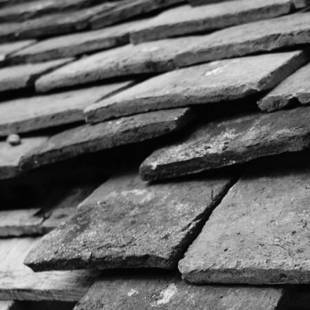 residential roof needing repair in Pleasanton, CA by Elemental Roofing