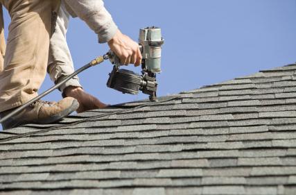 Repairing Emergency roof leak in Pleasanton.