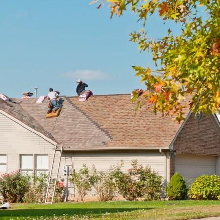 Elemental Roofing Install team completing Pleasanton Residential Roof.