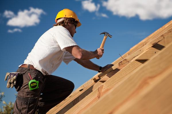 Element roofing installer performing walnut creek roofer work