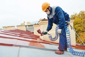 Finishing A Metal Roof