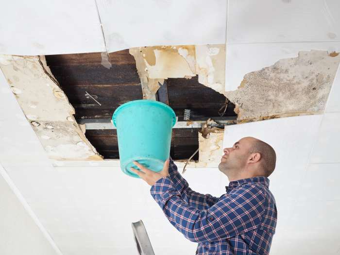 Roof Leak Emergency
